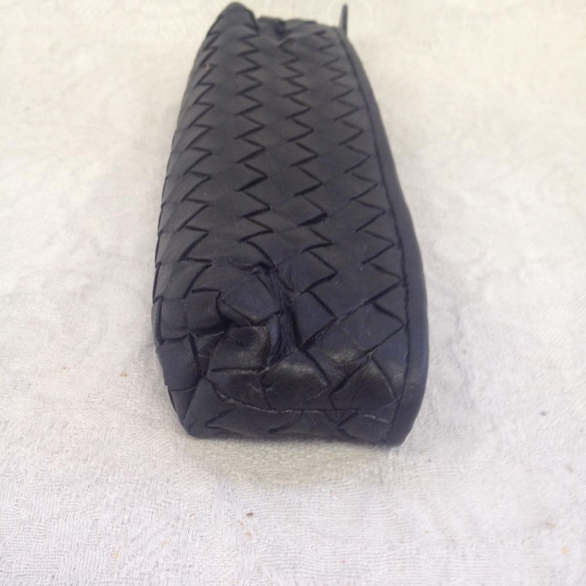 池袋 ペンケース ソファー、鞄、バッグ、修理、張替、黒ずみ汚れ、クリーニング、色移り、すれ傷  ベージュ ボッテガヴェネタ 25