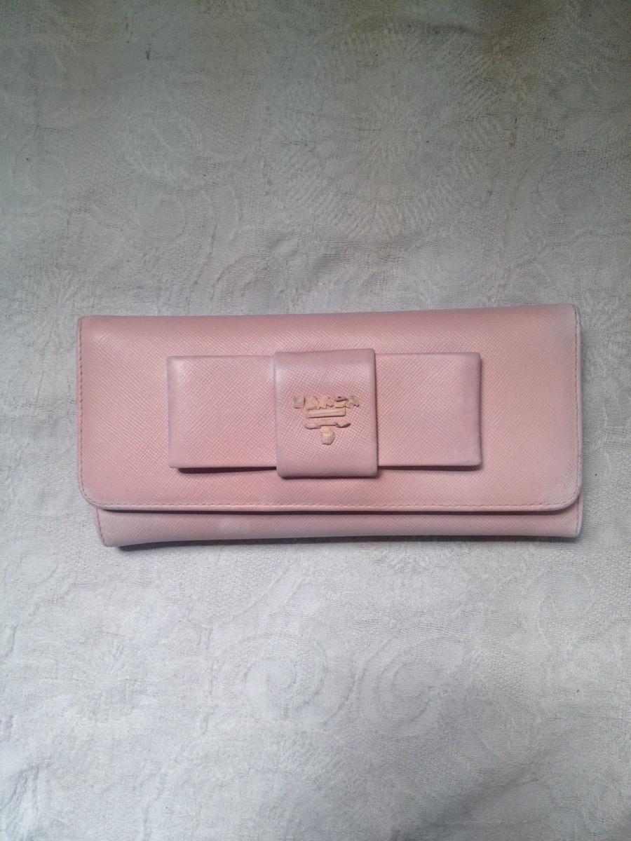 新宿 ソファー、鞄、バッグ、修理、張替、黒ずみ汚れ、クリーニング、色移り、すれ傷  ピンク プラダ2